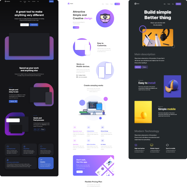 14 ready to use web pages and landing pages